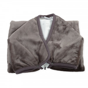 Couverture transformable en nid d'ange - Taupe