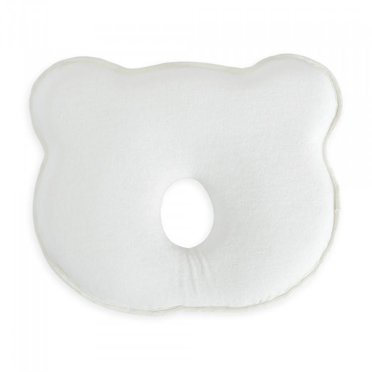 Babykopfstütze-weiß