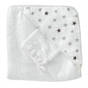 """Ensemble sortie de bain - """"Rêves d'étoiles"""""""