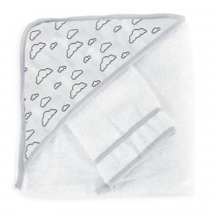 Confezione 2 pezzi accappatoio - Nuvola