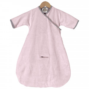 Schlafsack flanell 65 cm Flanelle -  Rosa